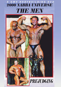 2000 NABBA Universe: The Men's - Prejudging