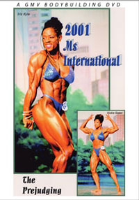 2001 IFBB Ms International: Prejudging