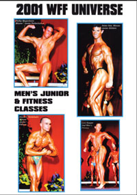 2001 WFF Universe: Men's #1 - Junior & Fitness Classes
