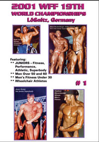 2001 WFF World Championships The Men DVD 1