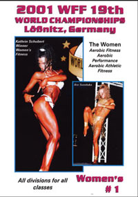 2001 WFF World Championships - Women DVD # 1
