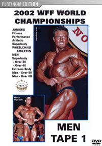 2002 WFF World Championships: Men DVD 1