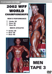 2002 WFF World Championships: Men DVD 3