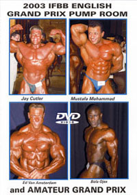 2003 IFBB English Grand Prix - Pump Room and Amateur Grand Prix