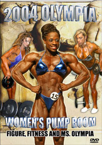 2004 Olympia Womens Pump Room - Figure, Fitness, and Ms Olympia