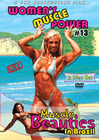 Women�s Muscle Power #13 � Muscle Beauties in Brazil 2 disc set