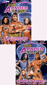 2008 Arnold Classic Women\'s Prejudging and Finals Special Deal