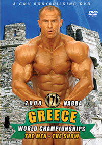 2008 NABBA World Championships: Men - Show [PCB-713DVD]