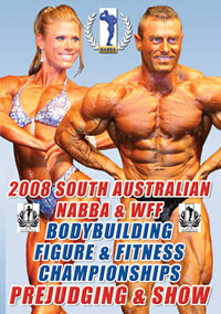 2008 NABBA/WFF SA Bodybuilding and Figure Championships [PCB-717DVD]