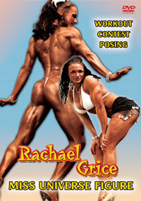 RACHAEL GRICE - MISS UNIVERSE FIGURE [PCB-753DVD]