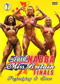 2010 NABBA Miss Britain Finals [PCB-785DVD]