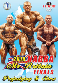 2010 NABBA Britain Finals: The Men - Judging & Show 2 Disc Set