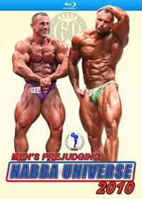 2010 NABBA Universe: Men - Prejudging on Blu-ray