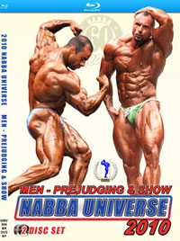 Blu-Ray DVD - 2010 NABBA Universe - The Men
