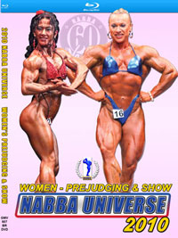 Blu-Ray DVD - 2010 NABBA Universe - The Women