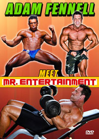 Bodybuilder: Adam Fennell - Meet Mr Entertainment