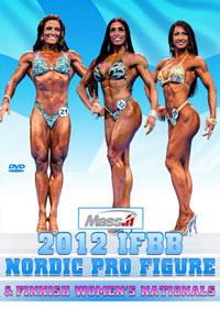 2012 IFBB Nordic Pro Figure & Finnish Women\'s Nationals