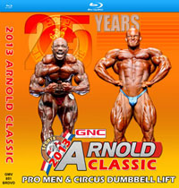 2013 Arnold Classic on Blu-ray