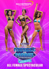 2014 ANB Australian Muscle and Model Extravaganza - Female Spectacular [PCB-870DVD]