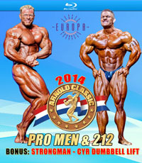 2014 Arnold Classic Pro Men on Blu-ray