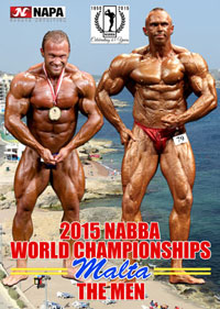 2015 NABBA World Championships - Men: Judging and Show
