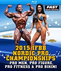 2015 IFBB Nordic Pro Championships - On Blu-ray
