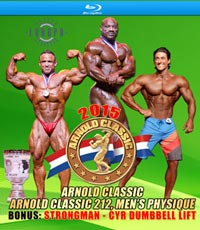 2015 Arnold Classic Pro Men on Blu-ray