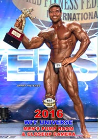 2016 WFF Universe Men's Pump Room and Closeup Camera