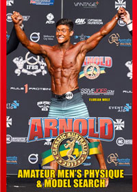 2017 IFBB Arnold Australia Amateur Men's Physique and Model Search