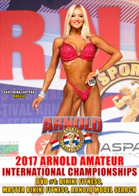 2017 Arnold Amateur USA Women's DVD #1