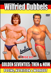 Wilfried Dubbels - Golden Seventies: Then and Now - 2 Disc Set [PCB-586DVD]