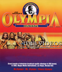 2001 Mr. Olympia Finals Historic DVD