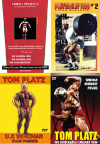 "IFBB Legend Tom ""Golden Eagle"" Platz Super 7 Mega Deal"