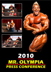 2010 IFBB Mr Olympia - Press Conference [PCB-003DVDSP]
