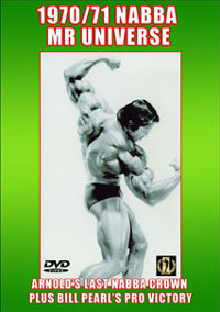 1970 & 1971 NABBA Universe - Arnold\'s last NABBA Crown [PCB-108DVD]
