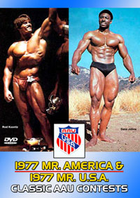 1977 AAU Mr America & 1977 Mr USA