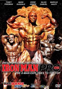 2007 Iron Man Pro DVD