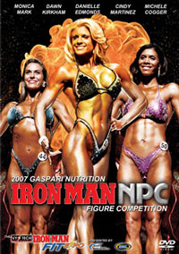 2007 Gaspari Nutrition Iron Man NPC Figure Competition