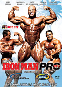 2008 Iron Man Pro - 2 Disc Set