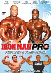 2008 Iron Man Pro - Weigh In and Pump Room [PCB-212DVDSP]