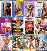 WOMEN\'S MUSCLE POWER - MEGA DEAL! [PCB-223DVDMEGA]
