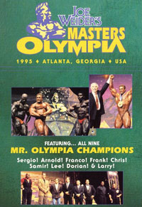 1995 Masters Olympia, with Mr. Olympia Reunion