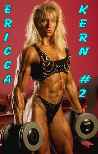 Ericca Kern # 2 - Workout, Pumping & Posing