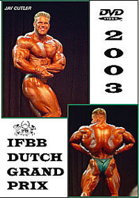 2003 IFBB Dutch Grand Prix DVD