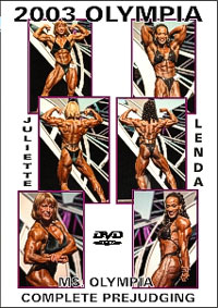 2003 Ms. Olympia - Complete Prejudging