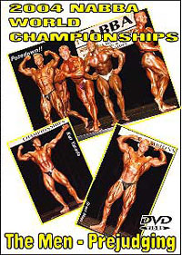 2004 NABBA World Championships: Men - Prejudging