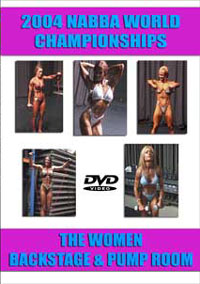 2004 NABBA World Championships: Women\'s Pump Room