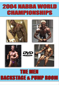 2004 NABBA World Championships - Men\'s Backstage and Pump Room