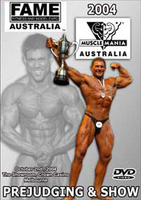 2004 MuscleMania Australia - Judging & Show