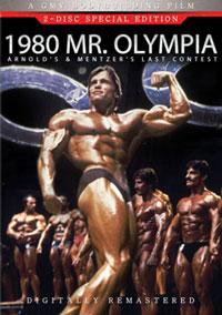 1980 Mr. Olympia - 2 DVD set [PCB-103DVDSP]